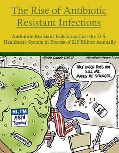 Drug-resistant bacteria / #information #wellness #medicine