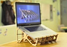 Fab Lab SF Laptop Stand