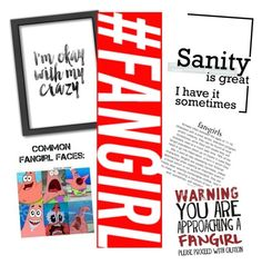 """""""#FANGIRL"""" by ywvalues ❤ liked on Polyvore featuring art"""