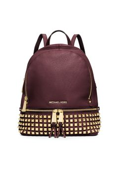 Back to School 2015: Michael Michael Kors' leather backpack. [Photo: Courtesy]