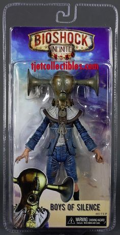 Bioshock Infinite series 1 Boys of Silence action figure MIP NECA #BioshockInfinite