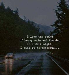 I love the sound of heavy rain and thunder.. —via http://ift.tt/2eY7hg4