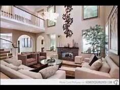 Living room remodeling with high ceiling design make your room feel more...