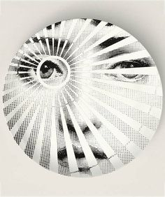 Vista Original Designs Inspired by Fornasetti by TheMadPlatters, $18.00