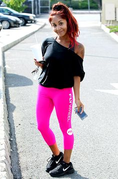 Snooki goes without makeup after a workout in New Jersey RP by http://hamad-deeb-dch-paramus-honda.socdlr.us