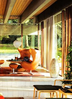 Bright Spark: Bright House by Jorn Utzon. Repinned by Secret Design Studio, Melbourne. www.secretdesignstudio.com
