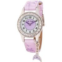 Cactus Purple Diamante Watch With Tiara Charm - $39.90. Available at: http://www.mamadoo.com.au/kids-clothes/girls-clothes/girls-hats-and-accessories/ #girls #hats #accessories #hair #hairties #headbands