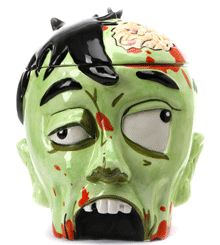 Zombie cookie jar! Good place to hide things, who'd want to open it? kn