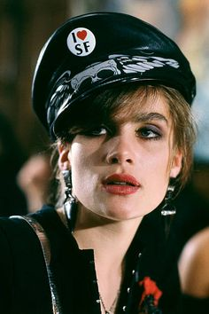 French actress Emmanuelle Seigner on the set of Frantic written and directed by Roman Polanski Emmanuel Seigner, Tv Movie, Movies, Movie Shots, Roman Polanski, Art Of Seduction, French Films, French Actress, Comic