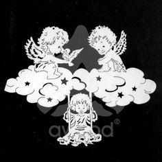 Drei Engelchen auf Wolke 7