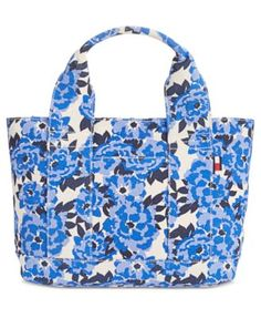 TOMMY HILFIGER Tommy Hilfiger Natalie Painted Floral Shopper Tote . #tommyhilfiger #bags #leather #hand bags #lining #tote #cotton #