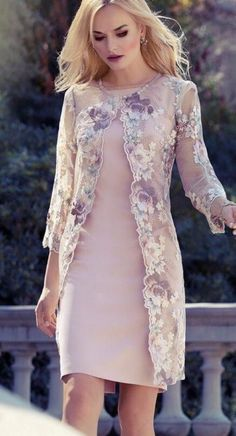 Mother of the Bride long lace floral jacket cover up jacket for Spring Summer We. - Mother of the Bride long lace floral jacket cover up jacket for Spring Summer We… – Kleid – Source by bridekod - Mother Of The Bride Jackets, Mother Of The Bride Dresses Long, Mother Of Bride Outfits, Mothers Dresses, Mob Dresses, Fashion Dresses, Dresses With Sleeves, Fashion Fashion, Dresses Online