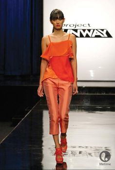 Project Runway - I LOVE this outfit!!! Patricia Michaels Spring design inspired by the iconic Lord & Taylor rose