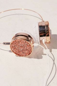 Shop Skinnydip Pyrite Headphones at Urban Outfitters today. We carry all the latest styles, colors and brands for you to choose from right here. Cute Headphones, Wireless Headphones, Kawaii Accessories, Iphone Accessories, Girly Things, Cool Things To Buy, Mode Rose, Accessoires Iphone, Metal Headbands