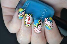Pop Art Nails Tutorial