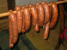 Homemade Slovak Sausages (Domáce Klobásy) Recipe (for Jeff) Slovak Recipes, Czech Recipes, Hungarian Recipes, Sausage Bread, Kielbasa Sausage, Sausage Seasoning, Homemade Sausage Recipes, Pepperoni Recipes, Charcuterie