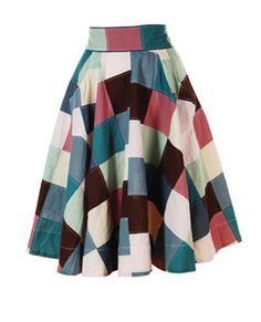 Reminds me of Seven Brides for Seven Brothers - I always loved their skirts/dresses