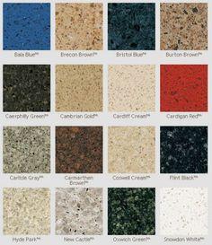 quartz gallery of colors cambria