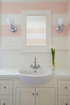 1000 Ideas About Pink Striped Walls On Pinterest Stripe
