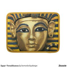 Egypt -Tutankhamun Sleeves For MacBook Pro