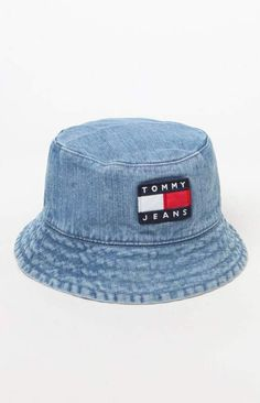 Tommy Jeans '90s Sailing Denim Bucket Hat