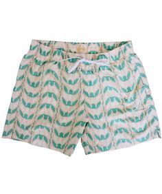Green Sirenuse Sirena Print 2014 collection #LeSirenuse #Positano #Swimwear #Mare #Collection