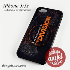 The Division Maps Phone case for iPhone 4/4s/5/5c/5s/6/6s/6 plus