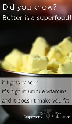 5 reasons why butter is an anti-cancer, nutrient-dense superfood!