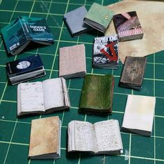 Itty Bitty Adventures: Miniature Monday: Easy Books Made from a Magazine,...