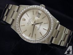 for sale, This is a full size gents model authentic Rolex stainless steel oyster perpetual. Americanlisted has classifieds in Keller, Texas for watches and jewerly Stainless Steel Rolex, High End Watches, Rolex Date, Rolex Watches For Men, Oyster Perpetual, Michael Kors Watch, 18k Gold, Silver, Life Styles