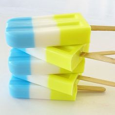 Sunday #FoodPorn, Father's Day Edition: Ice Pops for Your Pop
