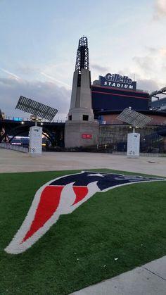 Gillette Stadium the tower