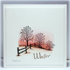 CC504 Winter by Biggan - Cards and Paper Crafts at Splitcoaststampers