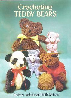 Crochet Teddy Bears Pattern Book