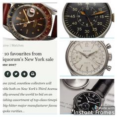 CLASSIC DRIVER: Our 10 favourites from Antiquorum's New York sale On June 22nd, countless collectors will assemble both on New York's Third Avenue and virtually around the world to bid on an astonishing assortment of top-class timepieces, from big-hitter major manufacturer favourites to bespoke rarities…Read more: https://www.classicdriver.com/en/article/watches/our-10-favourites-antiquorums-new-york-sale