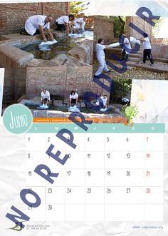 Mes de Junio del Calendario Solidario 2015