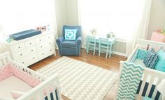Seeing Double: Tips for Decorating a Twins Nursery