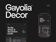 Gayolia Decor - interior design studio by Max Orlov