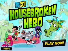 Teen Titans: Housebroken Hero is a free Adventure Games. Here you can play this game online for free in full-screen mode in your browser for free without any annoying AD