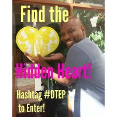 The final clues to the Downtown Management District's HIDDEN HEART Contest for #DTEP! #ItsAllGoodEP