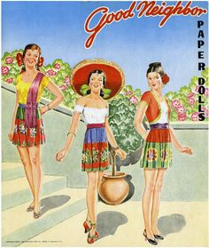 Paper Dolls~Good Neighbor - Bonnie Jones - Picasa Web Albums *** Paper dolls for Pinterest friends, 1500 free paper dolls at Arielle Gabriel's International Paper Doll Society, writer The Goddess of Mercy & The Dept of Miracles, publisher QuanYin5