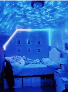 Neon Bedroom, Cute Bedroom Decor, Room Design Bedroom, Bedroom Decor For Teen Girls, Teen Room Decor, Room Ideas Bedroom, Dream Teen Bedrooms, Bedroom Inspo, Chill Room