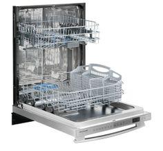 Dishwasher interior.