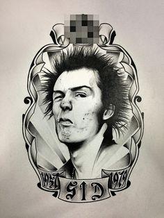 Sid Vicious (John Simon Ritchie) 1957-1979 by Baccho Ttc