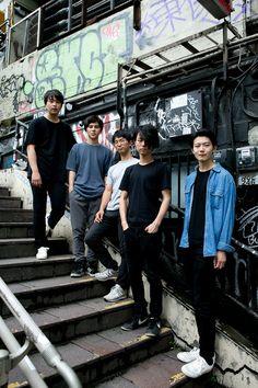 Street Style: Boys from Ykiki Beat spotted in Shibuya, Tokyo. 若手バンド「ワイキキビート(Ykiki Beat)」を渋谷で撮影 | Fashionsnap.com