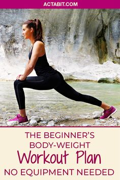 Get in on the trend of bodyweight training, simple but very effective. Learn how to exercise without equipment at home. Check the bodyweight workout for beginners.