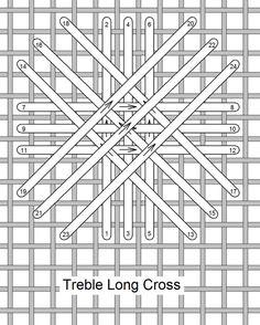 Needlelace - Ponto do mês Agosto