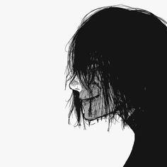 Art Manga, Manga Anime, Anime Art, Arte Horror, Horror Art, Aesthetic Art, Aesthetic Anime, Tokyo Ghoul Manga, Arte Cyberpunk