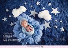 'Twinkle Twinkle Stars'  Baby Ethan Look 12 days old  Ashley Low Photography | Specialize in Newborn and Baby Photography | Newborn Photography | Singapore | Baby Boy | Creative theme | SG51 | Set ups | Stars