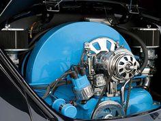 1966 Volkswagen Beetle+Engine